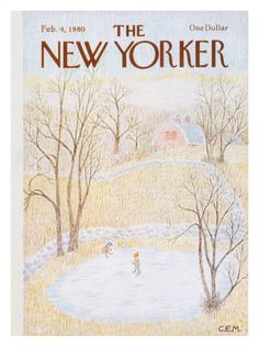 The New Yorker Cover - February 4, 1980 Giclee Print by Charles E. Martin at Art.com