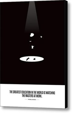 The Greatest Education In The World  Minimalist Typography Art Canvas Print / Canvas Art By Lab No 4 - The Quotography Department #canvas#prints#