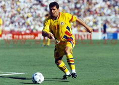 George Hagi. The best soccer player to come out of Romania. He won the Champions League and Super Cup with Galataserai. He played also for Barcelona and a couple of other high profile teams. He is one of the best free kick takers of all time.