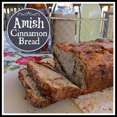Queen B - Creative Me: Amish Cinnamon Bread....... Going to put my gf spin on this one....looks yummy!