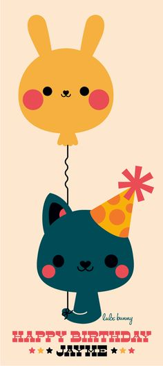 birthday kitty and for Jayme // gatito cumpleañero para Jayme