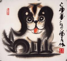 韩美林动物画② - 潮河边人的日志- 网易博客