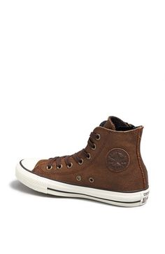 Converse Chuck Taylor® 'Aviator' Side Zip Leather High Top Sneaker (Women) | Nordstrom
