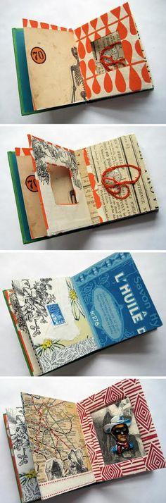 Janelas de ligação entre as páginas.