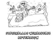 Sinterklaas werkboekje bovenbouw. (klikken voor het hele boekje)