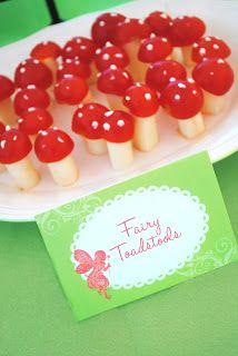 Garden Fairy Party Menu ‹ Itsy BelleItsy Belle