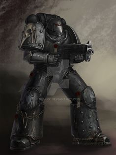 Raven Guard veteran by Inkary on DeviantArt