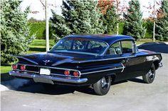 1960 CHEVROLET BEL AIR 2 DOOR COUPE - Rear 3/4 - 161797