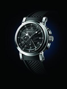 #TiempoPeyrelongue Breguet MARINE CHRONOGRAPHE 5823  Con aspecto deportivo y robusto, los relojes Marine ofrecen un diseño contemporáneo, aunque conservan algunos códigos estéticos propios de la marca.