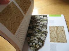 Zen Bookmark with pattern.