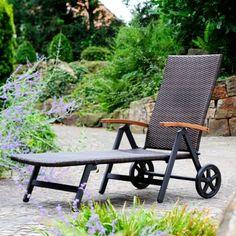 ▷▷ Gartenliegen Günstig : Gartenliege mit Rollen Aktivshop >>> http://ebay.to/1Ko5FW6 <<<