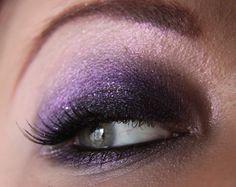 "MakeupGeek.com: ""Dark & Sparkly MAC look"""