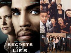 SECRETS & LIES (Season 2):  Premiere on Sunday, September 25, 2016 @ 9:00pm on ABC! Secrets And Lies, Michael Ealy, Free Episodes, Tv Station, Reality Tv, Season 2, Comebacks, The Secret, Tv Shows