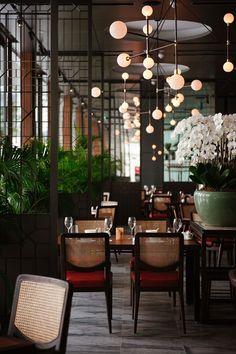 Empress Restaurant / Takenouchi Webb #restaurantdesign