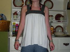 Completed Project: Cute And Comfy Tank Top Picture #1