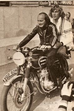 Mike the Bike & James Hunt