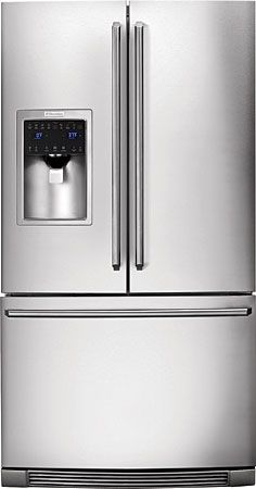 Electrolux Standard Depth French Door Refrigerator With IQ Touch™ Cont  Stainless Steel Refrigerators French Door Fridge