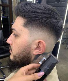Stylish Mens Haircuts, Cool Hairstyles For Men, Funky Hairstyles, Latest Hairstyles, Haircuts For Men, Fade Haircut, Good Skin, Undercut Fade, Disconnected Undercut