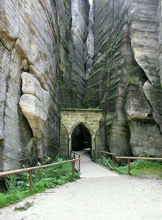 Ardspach national park, Trutnov, Chez Republic