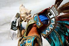 Aztec Indian Sun God Dance