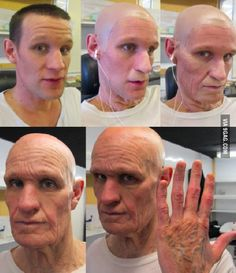 The process of aging Matt Smith for the Doctor Who Christmas Special