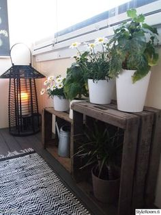 Bedroom Decoration - Toilet Decoration - for Small Spaces Gallery - Balkon - Design RatBalcony Plants tan Furniture Patio Decor, Apartment Balcony Garden, Greenery Decor, Garden Decor, Garden Design, Cozy Apartment Decor, Cozy Apartment, Indoor Garden, Small Garden