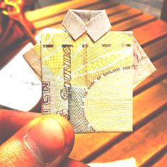 #origami #art #money
