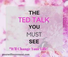 The TED Talk You Must See