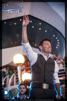 Ryan on the Celtic Thunder Cruise 2014
