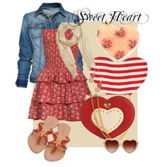 Sweet Heart, created by charlotte-bilton-carver on Polyvore