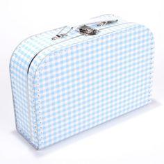Koffertje Ruitje - Lichtblauw