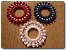 Bobble Wheel Ornament Pattern