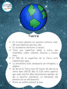 El sistema solar es el conjunto formado por el Sol y los ochos planetas con sus respectivos satélites que giran a su alrededor, también le acompañan en su desplazamiento por … Space Projects, Science Projects, School Projects, Solar System Projects, Our Solar System, Earth And Space Science, Social Science, Science Jokes, Learning Spanish