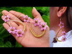 Making Bracelets With Beads, Diy Bracelets Easy, Bead Loom Bracelets, Bracelet Crafts, Embroidery Bracelets, Seed Bead Jewelry, Seed Bead Earrings, Beaded Jewelry, Handmade Jewelry