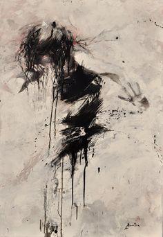 Ewa Hauton  oil painting on canvas  http://ewahauton.wix.com/peinture