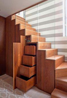 Tu Organizas.: Armários escadas