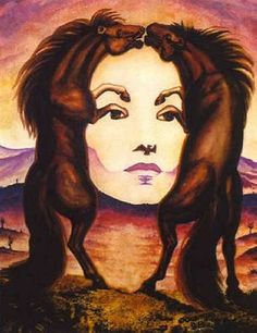 Google Image Result for http://uploads4.wikipaintings.org/images/octavio-ocampo/horse-face.jpg