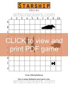 Starship-Game-Board Click to Print