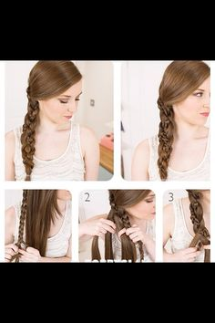 Little broad Into braid