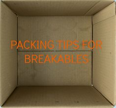Packing breakables for storage or shipping this summer? Check our our 3 favorite tips on our blog today! #summer15 #summerstorage #dormlife