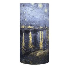 Starry Night over the Rhone by Van Gogh Flameless Candle