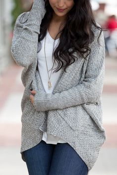 What's Next Taupe Sweater