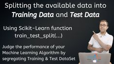 Machine learning Algorithm selection faces a unique catch22 situation where you get the data to train but need unseen(new)data to test the algorithm which is available only with production.  To avoid this situation and understand the performance of the selected Machine Learning algorithm, we need to generate TEST DATASET from the available DATA Set.