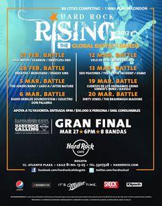 Batallas del Hard Rock Rising Colombia, fue un concierto genial.