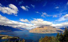 widescreen backgrounds lake