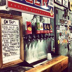 Austin Beerworks taps