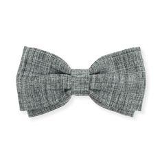 Gravata Borboleta Cinza Mescla – Dois Maridos – Gravatas Borboletas, Suspensórios e informações de moda.