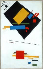 Casimir Malewich (1878 - 1935) Russian painter. Part of the suprematist movement.