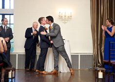 Love Days Photography #AldenCastle #grooms #samesexwedding #samesexmarriage #firstkiss