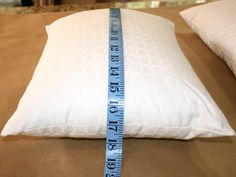 Measure the Length and Width for Easy Sew Pillow Case